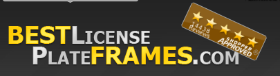 Best License Plate Frames Promo Code