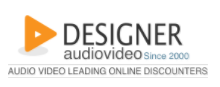 Designer Audio Video Promo Codes