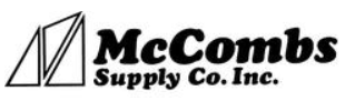 McCombs Supply Promo Code